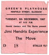 Jimi Hendrix - Amen Corner - Eire Apparent - Pink Floyd - The Move - The Nice - The Outer Limits - 05/12/1967