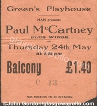 Paul McCartney & Wings - 24/05/1973