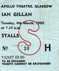 Gillan - Edgar Broughton Band - 04/03/1980